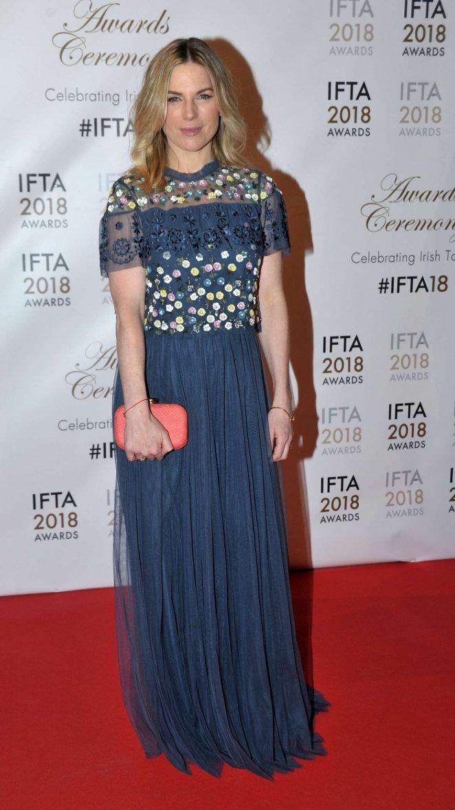 Eva Birthistle - 2018 IFTA Film and Drama Awards in Dublin