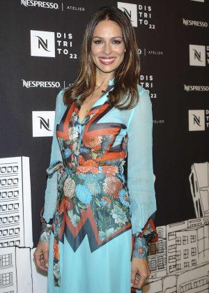 Eva Gonzalez Presents Nespresso Atelier 'Distrito 22' in Madrid