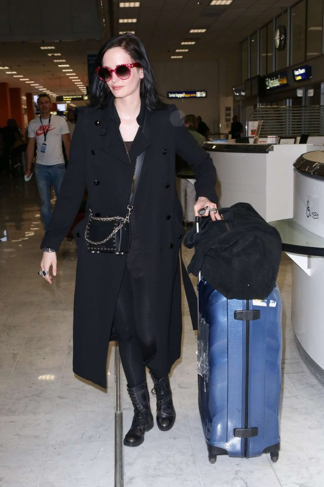 Eva Green Arrives at Nice Airport in Cannes