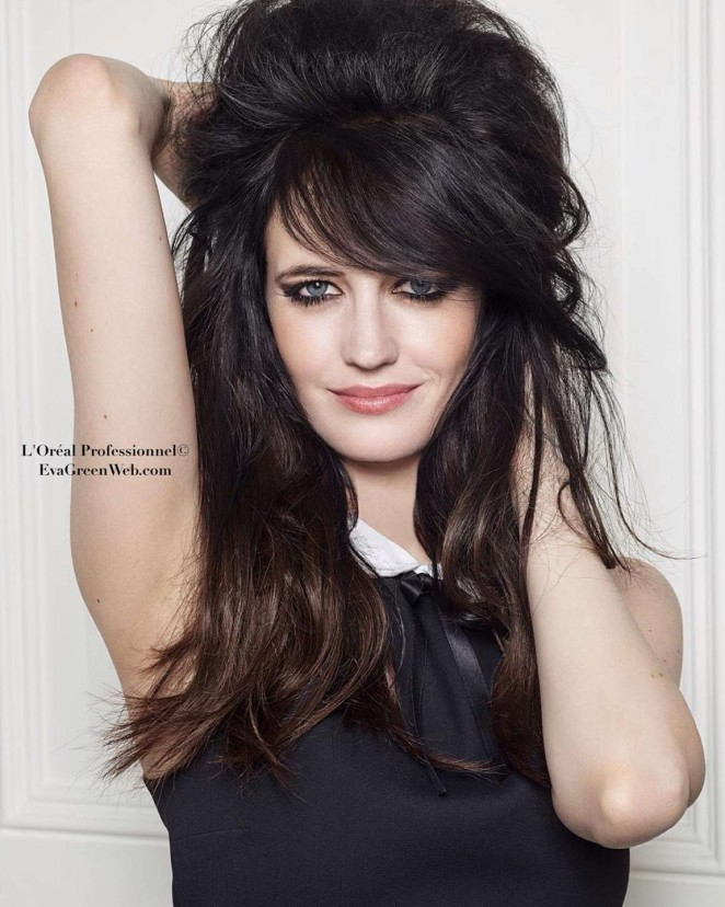 Eva Green - L'Oréal Photoshoot 2016