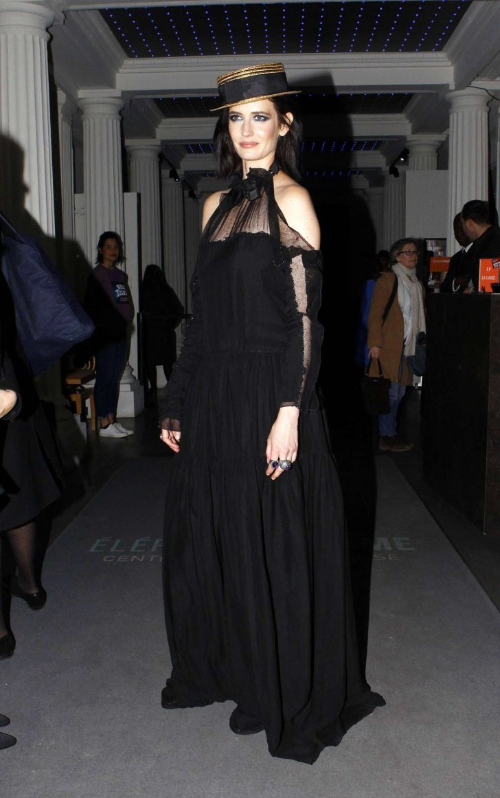 Eva Green - Out and about in Paris