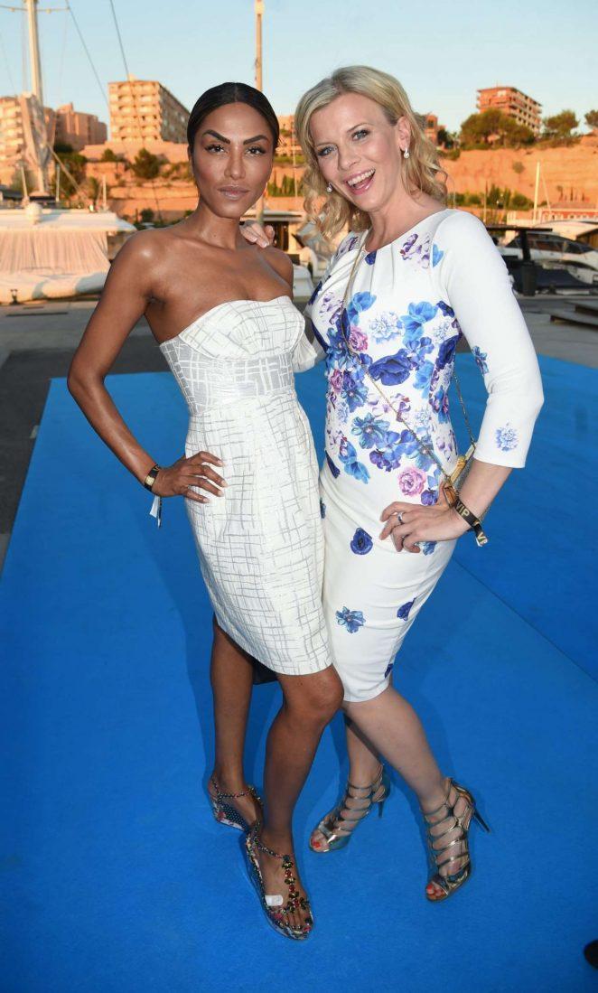 Eva Habermann and Sabrina Setlur at Pixx Lounge Mallorca 2017
