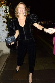 Eva Herzigova - Arrives at the Chopard Event at Annabel's Private Members Club in London