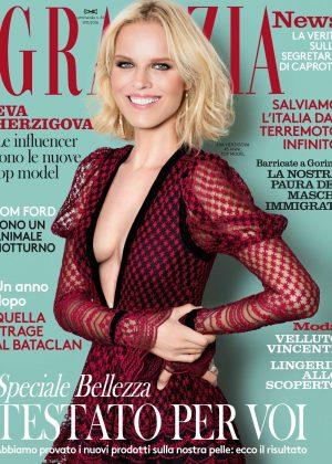 Eva Herzigova - Grazia Italy Magazine (November 2016)