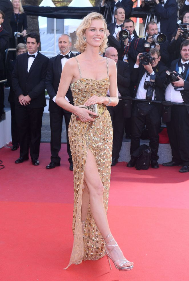 Eva Herzigova - 'Ismael's Ghosts' Screening at 70th Annual Cannes Film Festival in France