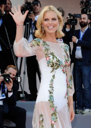 Eva Herzigova - 'Nocturnal Animals' Premiere at 73rd Venice Film Festival in Italy
