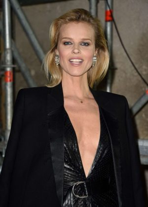 Eva Herzigova - Saint Laurent Show AW 2017 in Paris