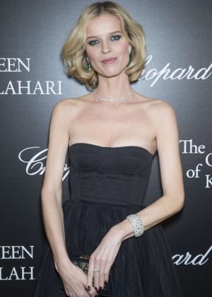 Eva Herzigova - 'The Garden of Kalahari' Movie Presentation in Paris