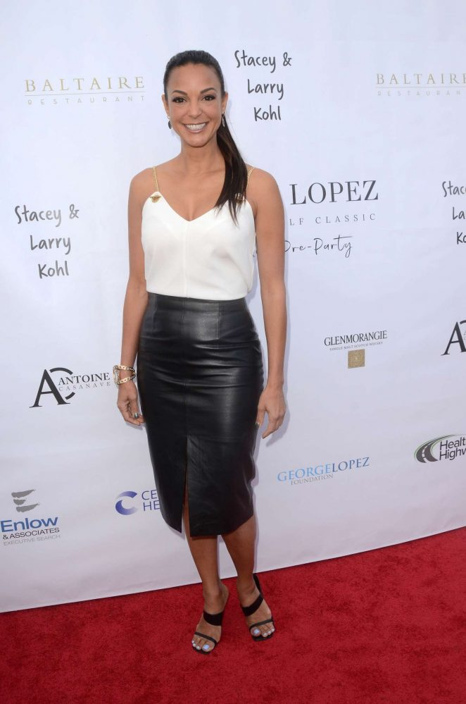 Eva LaRue – George Lopez Golf Classic Pre-Party in Brentwood