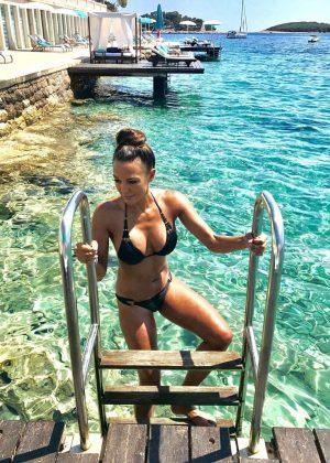 Eva LaRue in Bikini - Instagram Pic
