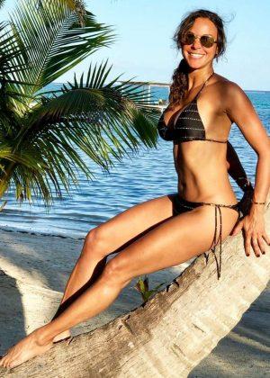 Eva LaRue in Bikini - Social Media Pics