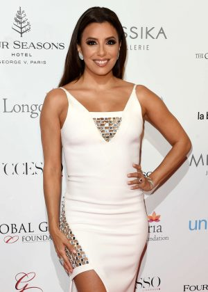 Eva Longoria - 7th edition of the Global Gift Gala Dinner in Paris