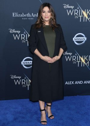 Eva Longoria - 'A Wrinkle in Time' Premiere in Los Angeles