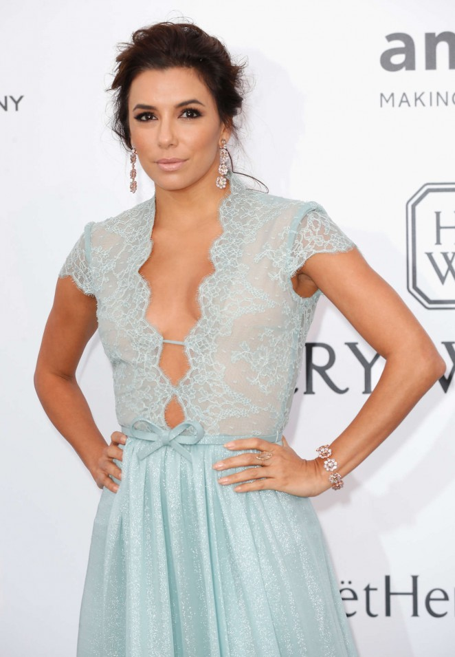 Eva Longoria - amfAR 2015 Cinema Against AIDS Gala in Cannes