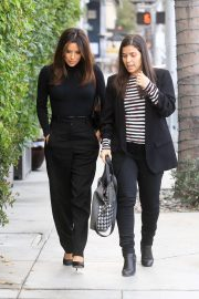 Eva Longoria and America Ferrera - Out and about in Beverly Hills
