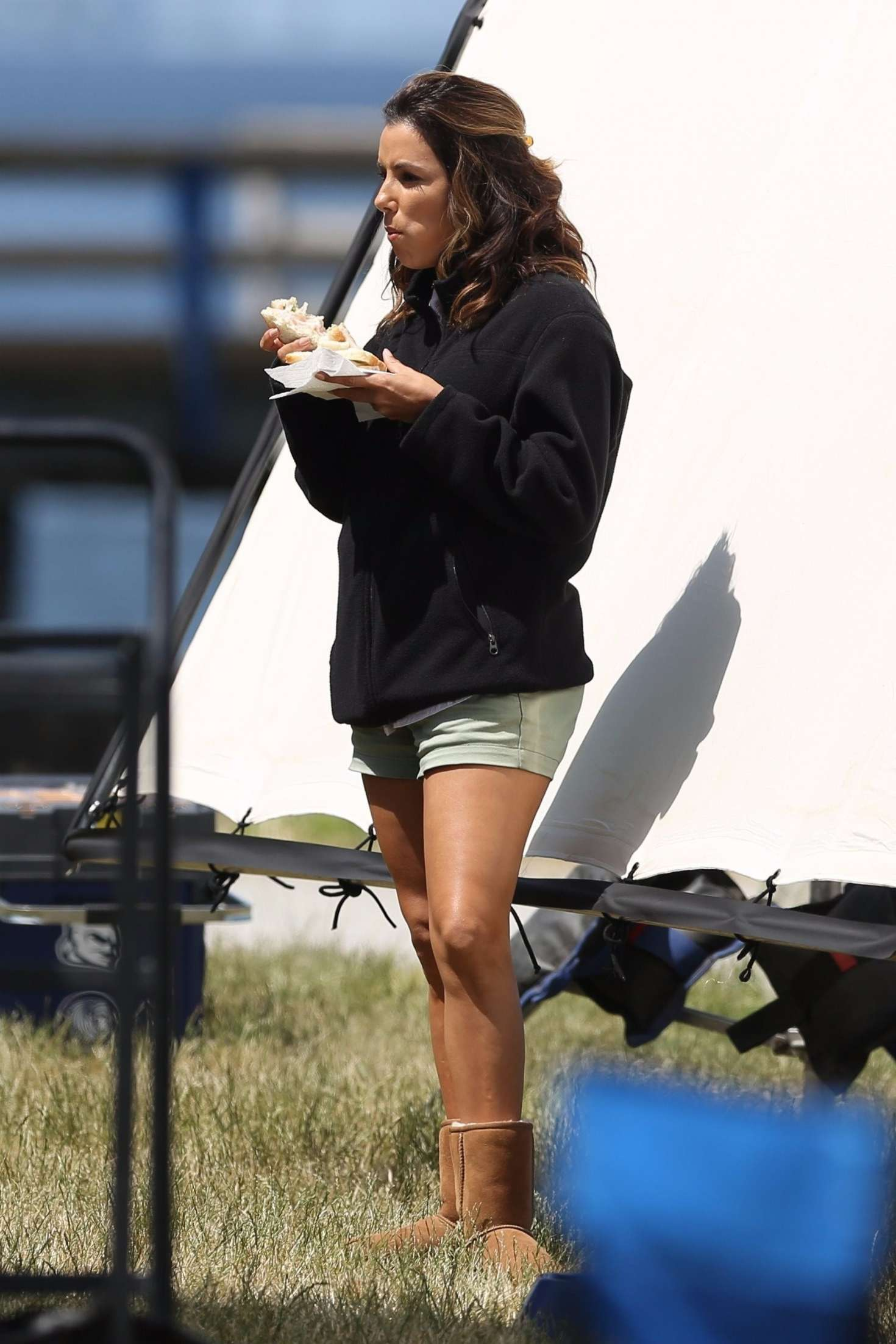 Discussion on this topic: Heidi klum in lingerie, eva-longoria-on-the-set-of-overboard/