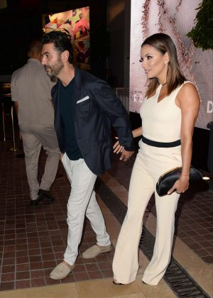 Eva Longoria and husband Jose Barton Leave the Majestic hotel in Cannes