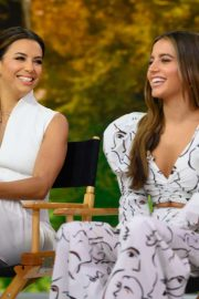 Eva Longoria and Isabela Moner - On NBC's Today Show in NY