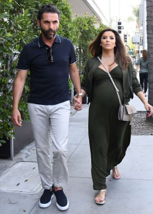 Eva Longoria and Jose Baston - Out in Los Angeles