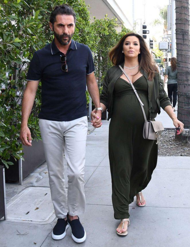 Eva Longoria and Jose Baston – Out in Los Angeles