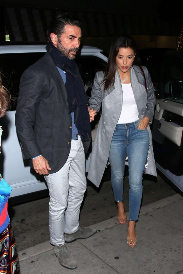 Eva Longoria and Jose Baston seen at Mr. Chow in Beverly Hills