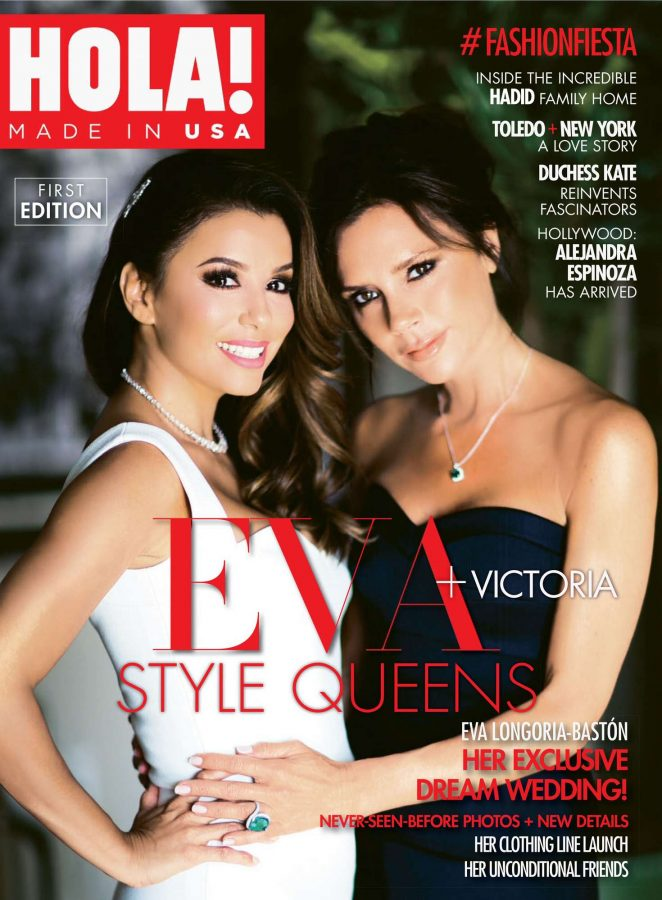 Eva Longoria and Victoria Beckham - Hola Made US Magazine (August 2016)