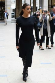 Eva Longoria - Arrives at Guy Laroche Show in Paris
