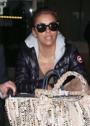 Eva Longoria - Arrives at LAX