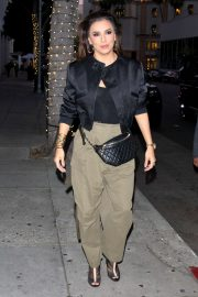 Eva Longoria - Arrives for dinner in Beverly Hills