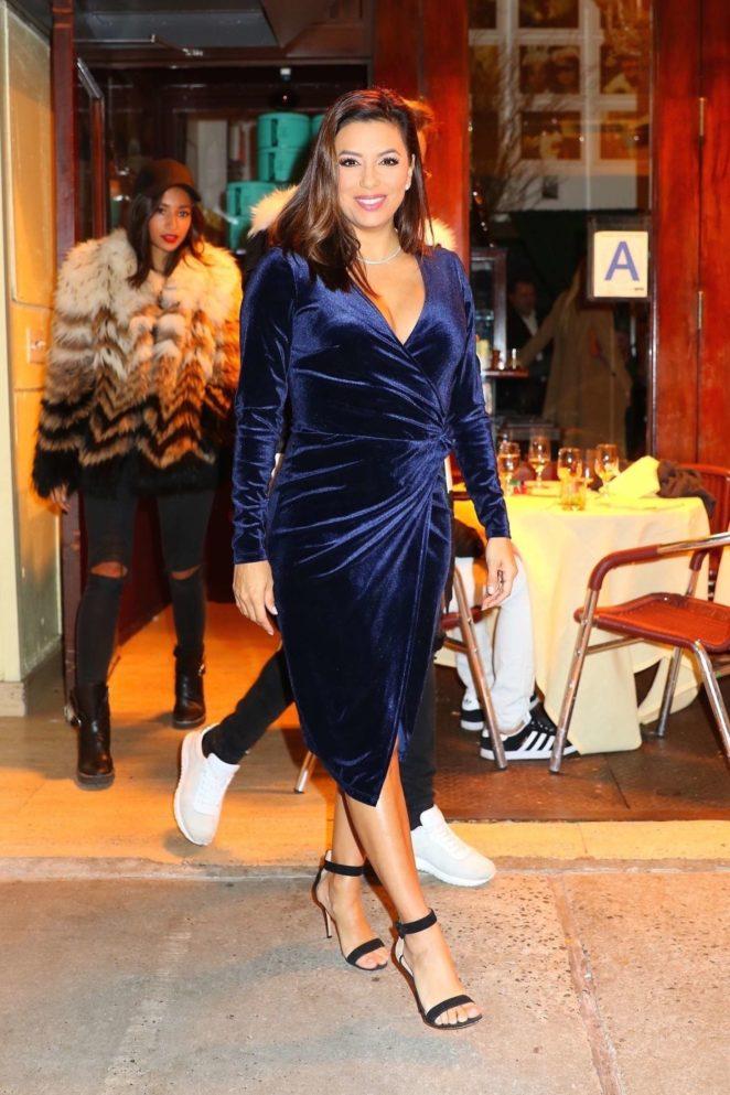 Eva Longoria at Cipriani restaurant -10