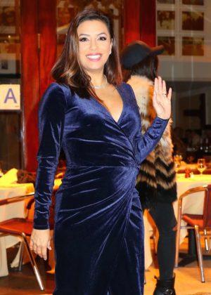 Eva Longoria at Cipriani restaurant in New York