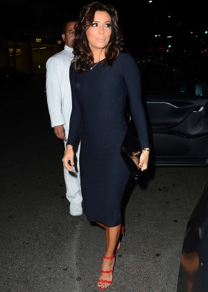 Eva Longoria at Mr. Chow Restaurant in Beverly Hills