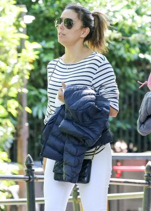 Eva Longoria at The Loeb Boathouse Central Park in NY