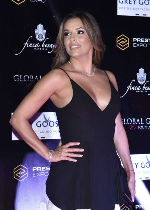 Eva Longoria - Attend a charity dinner in Marbella