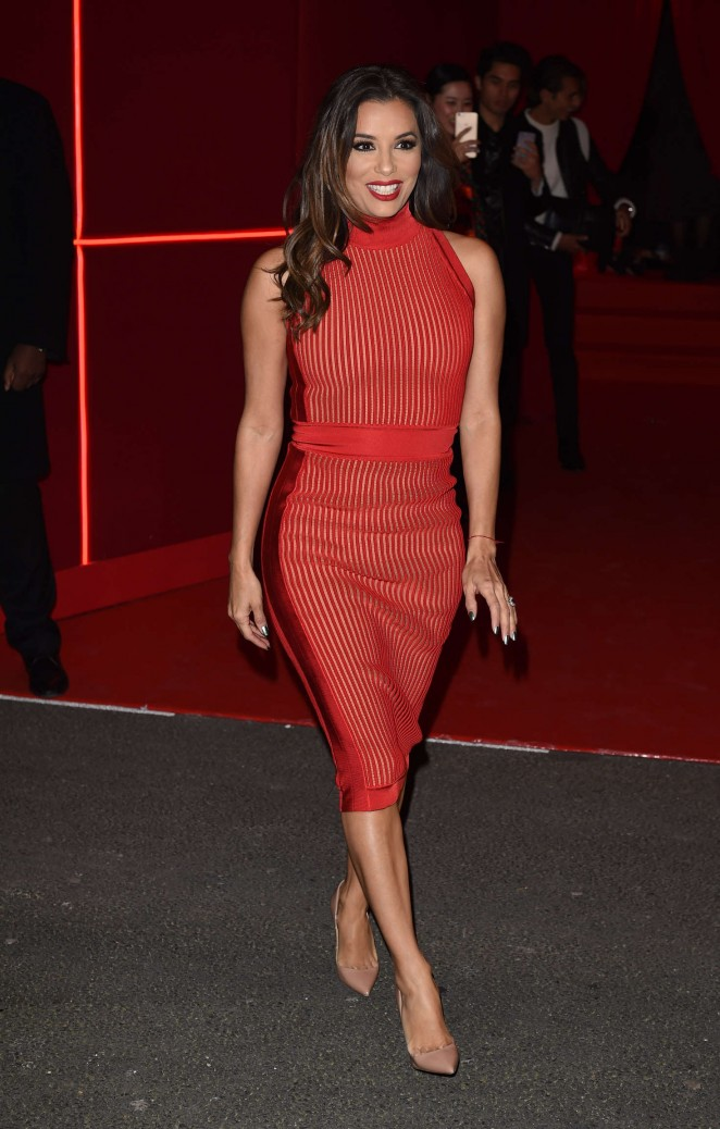 Eva Longoria - Attends at L'Oreal Red Obsession Party 2016 in Paris