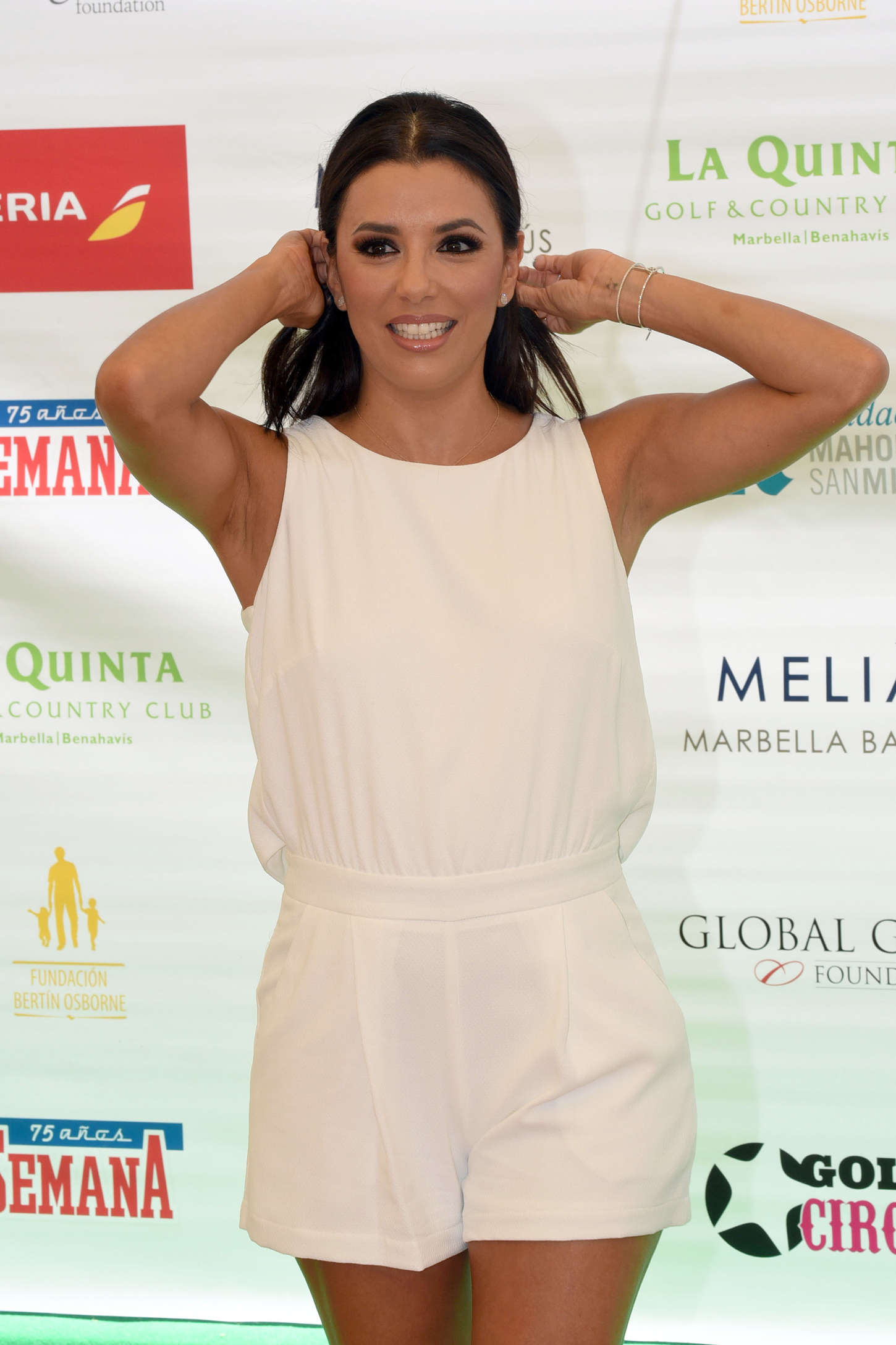 Eva Longoria - Charity Tournament in Marbella