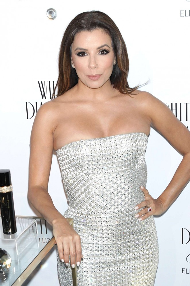 Eva Longoria - Elizabeth Taylor White Diamonds 25th Anniversary Celebration in NYC