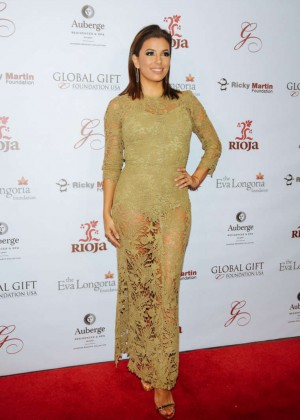 Eva Longoria - Global Gift Foundation Dinner in Miami