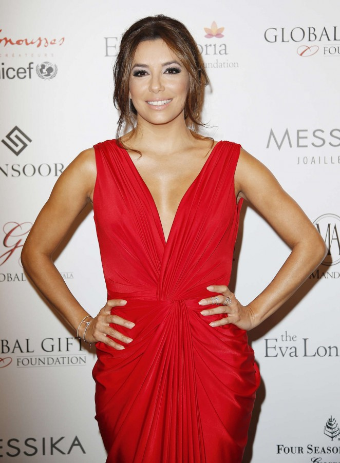 Eva Longoria - Global Gift Gala 2015 in Paris