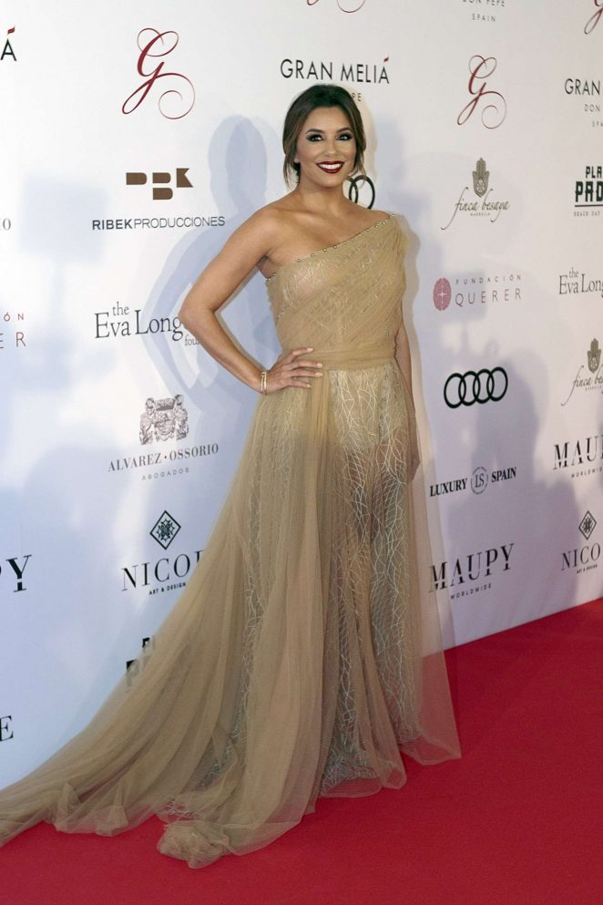 Eva Longoria - Global Gift Gala 2017at Melia Don Pepe in Marbella
