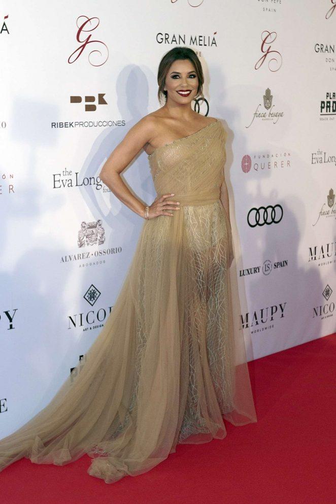 Eva Longoria – Global Gift Gala 2017at Melia Don Pepe in Marbella