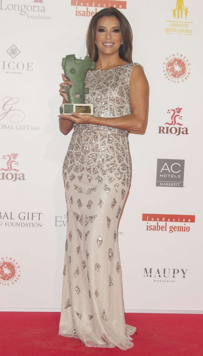 Eva Longoria: Global Gift Gala Photocall 2016 -07