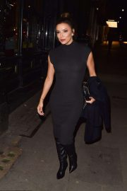 Eva Longoria - Heading to Mr Chow's in London