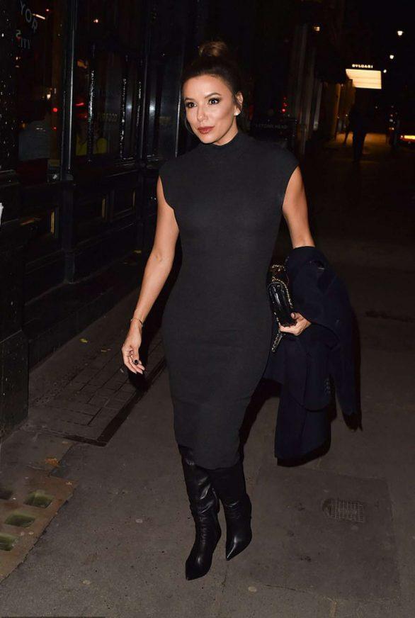 Eva Longoria - Heading to Mr Chow's in London