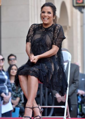 Eva Longoria - Hollywood Walk Of Fame Ceremony in Beverly Hills