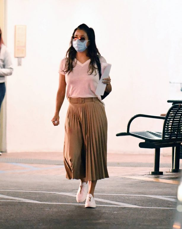 Eva Longoria - In a long skirt out in Los Angeles
