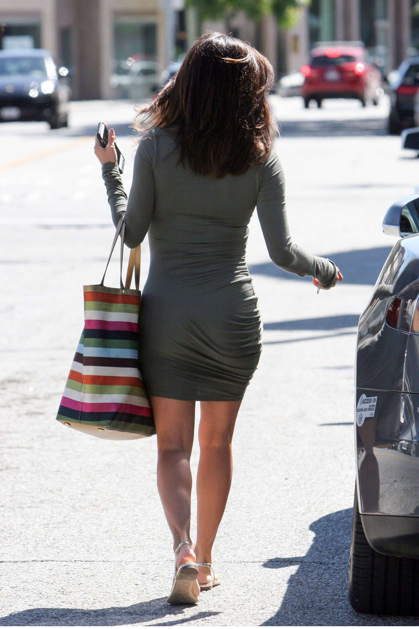 Eva Longoria in Tight ...