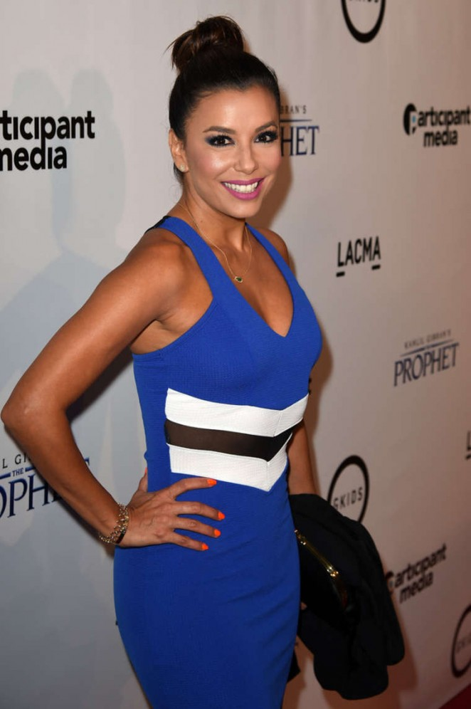 Eva Longoria - 'The Prophet' Premiere in Los Angeles