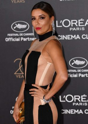 Eva Longoria - L'Oreal 20th Anniversary Party in Cannes
