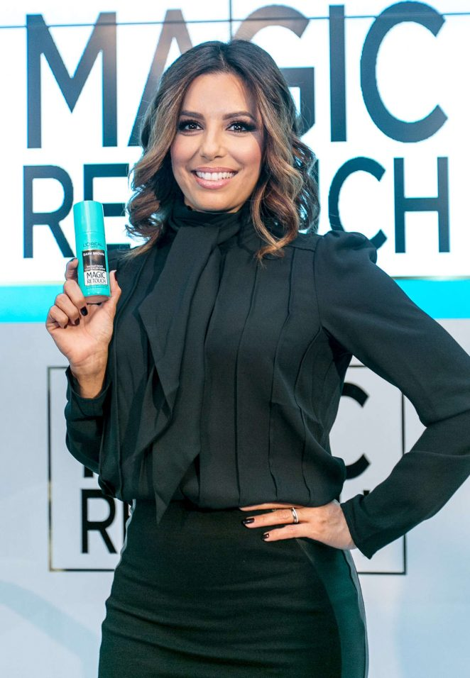 Eva Longoria - L'Oreal press day in Moscow
